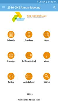 CHS Inc. Events apk screenshot