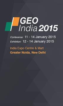 GEO India 2015 poster