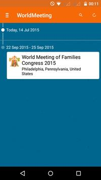 World Meeting of Families apk screenshot