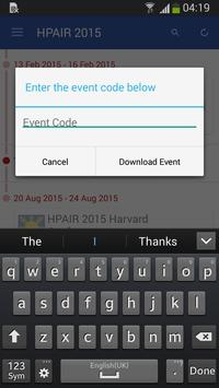 HPAIR 2015 apk screenshot