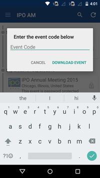 IPO Annual Meeting App apk screenshot