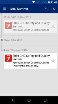 CHC S&Q Summit apk screenshot