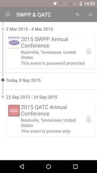 SWPP & QATC Conferences poster