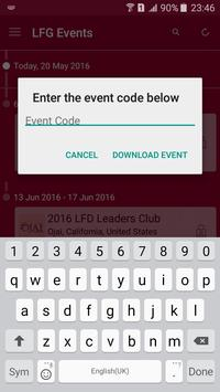 LFG Events apk screenshot