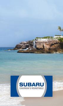 Subaru Chairman's Roundtable poster