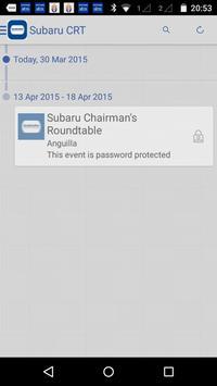 Subaru Chairman's Roundtable apk screenshot