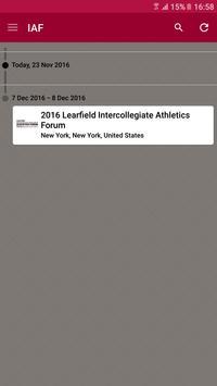 Intercollegiate Athletics apk screenshot