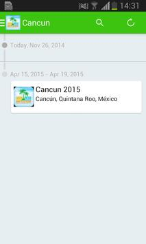 TBB Cancun 2015 apk screenshot