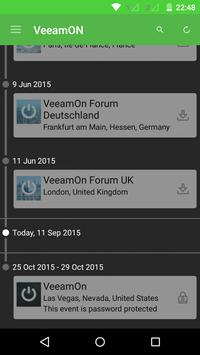 VeeamON 2015 poster