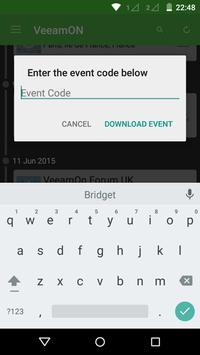 VeeamON 2015 apk screenshot