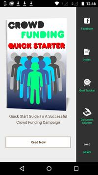 Crowd Funding | Quick Starter poster