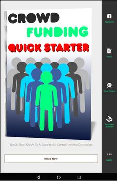 Crowd Funding | Quick Starter apk screenshot