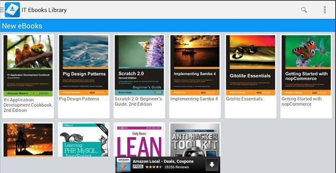 IT Ebooks Library apk screenshot