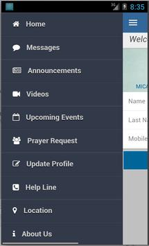 Micar Christian University apk screenshot