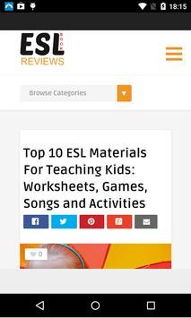 ESL Book Reviews 2.0 apk screenshot