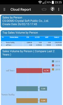 Crystal Cloud Report apk screenshot