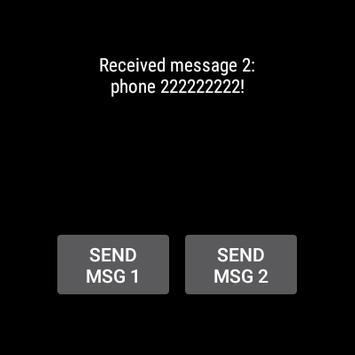 MsgDemo apk screenshot