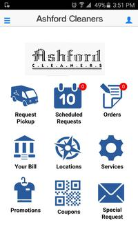 Ashford Cleaners apk screenshot