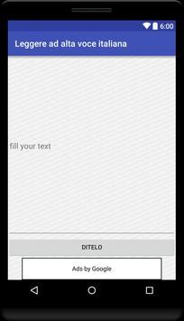 Read your Text - Italian apk screenshot