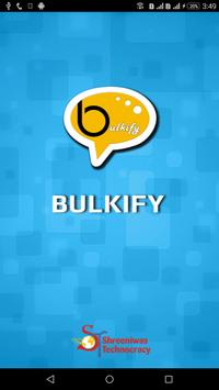 Bulkify poster