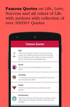 Famous Quotes poster