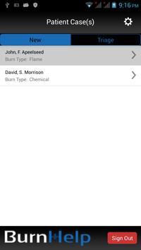 BurnHelp apk screenshot