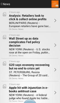 d6 Business Communicator apk screenshot