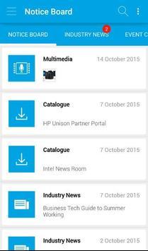 HP / Intel SMB Engage poster