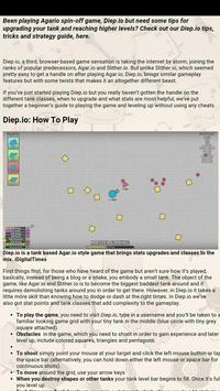 Cheats and guide for Diep.io poster