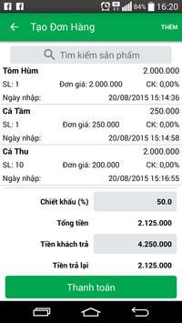 iShop - QL bán hàng thông minh apk screenshot