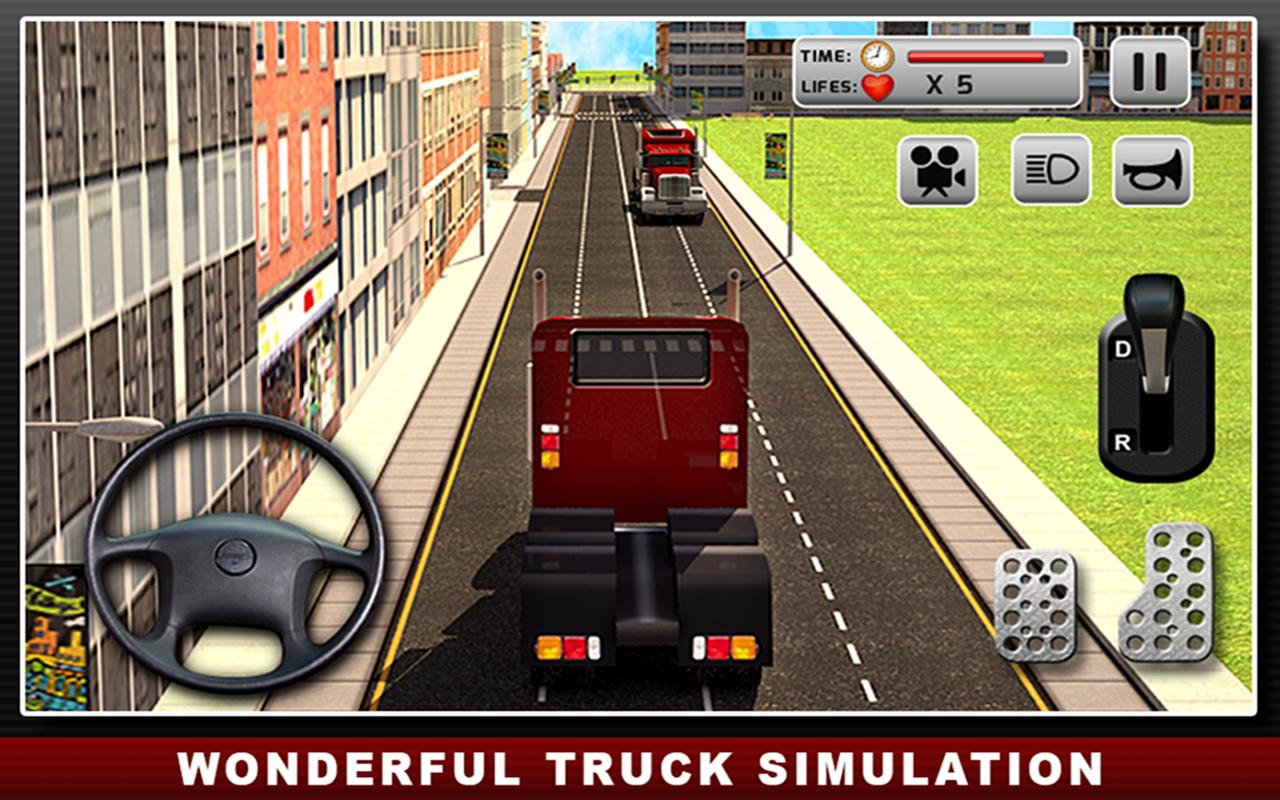 real truck simulator driver apk free simulation for android apkpure