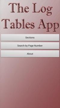 The Log Tables apk screenshot