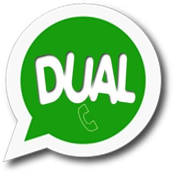 Dual acWA for WhatsAp tutorial poster