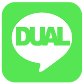 DUAL for LINE step icon