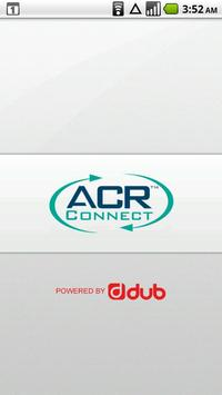 ACR Connect poster