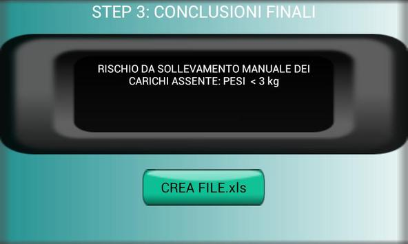 prevalutazione NIOSH apk screenshot