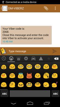Kitkat SMS - Android 4.4.4 apk screenshot