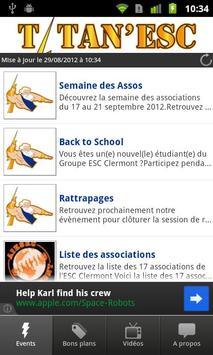 BDE ESC Clermont Titan'ESC poster
