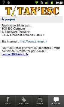 BDE ESC Clermont Titan'ESC apk screenshot