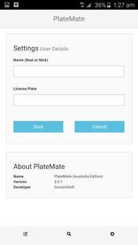 PlateMate 2.0 apk screenshot