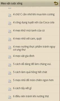 Meo Vat Cuoc Song apk screenshot