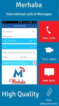 Merhaba - International calls apk screenshot