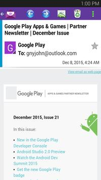 Email for Yahoo - Android App apk screenshot