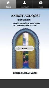 Axirət Azuqəsi 2 cild poster