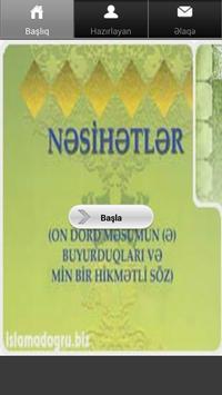 Nəsihətlər poster