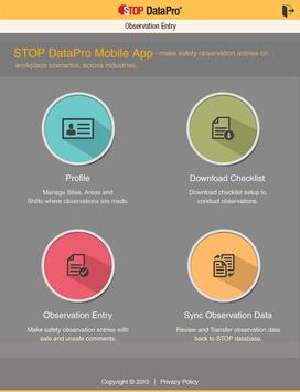 STOP DataPro® apk screenshot