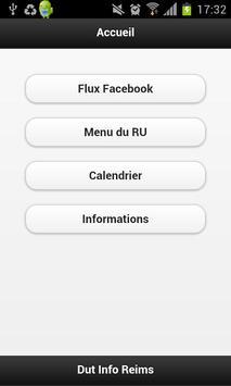 Dut Info Reims pour Mobile poster
