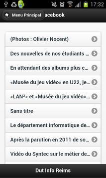 Dut Info Reims pour Mobile apk screenshot