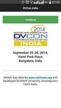 DVCon India 2014 poster