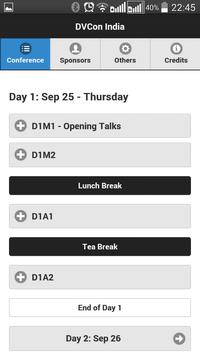 DVCon India 2014 apk screenshot